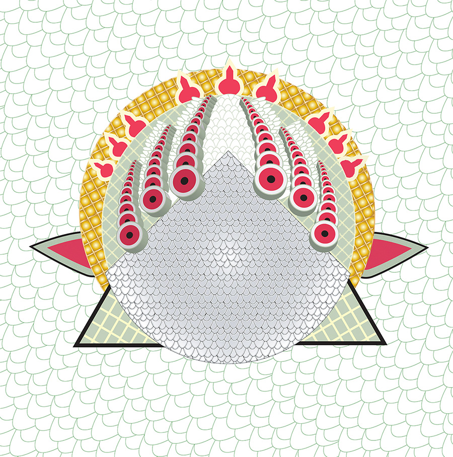 Fabric Print Vector and royalty
